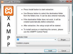 xampp install location