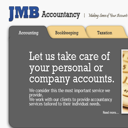 JMB Bookkeeping site
