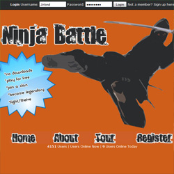 click to learn more about Ninja-Battle project
